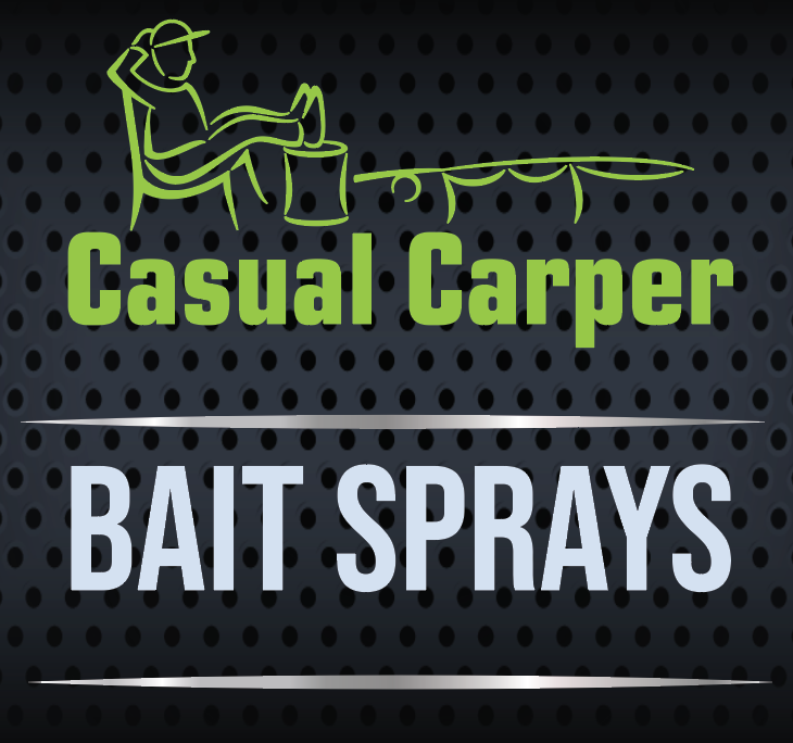 Casual Carper Hook Bait Sprays for Carp Fishing